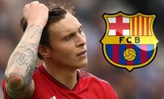 XONG! Lindelof phá vỡ im lặng trước sự quan tâm của Barcelona