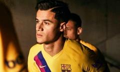 Barca ra mắt áo đấu mới, tiện thể chốt tương lai sao 142 triệu?