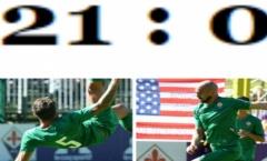 CHOÁNG! Fiorentina khẳng định sức mạnh bằng chiến thắng 21-0