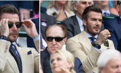 David Beckham hóa soái ca điển trai tại siêu kinh điển Wimbledon 2019