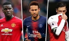 Neymar, Pogba và 6 ngôi sao cần tìm bến đỗ mới ngay mùa hè 2019