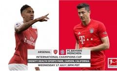 Cái nhìn tổng quan về cuộc chạm trán giữa Bayern và Arsenal tại International Champions Cup