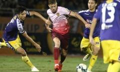 7 trận không thắng, CLB Sài Gòn rơi vào nỗi ám ảnh trụ hạng