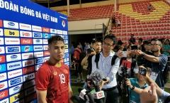 Khoác áo 19 của Quang Hải, Trọng Long hạnh phúc khi ghi bàn