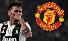 Juventus dâng cho Man Utd đổi lấy Lukaku, Dybala đã có câu trả lời