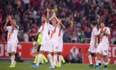 AS Roma đánh bại á quân Ligue I trong trận cầu nghẹt thở