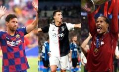 Van Dijk đấu Messi - Ronaldo: 2 trừ 3 cộng