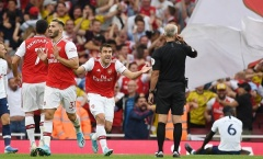 Đố vui: Bạn đã biết vì sao Arsenal chia điểm với Tottenham?