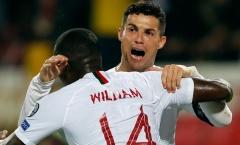 Matic chờ Ronaldo trước phòng thay đồ Bồ Đào Nha để làm 1 điều