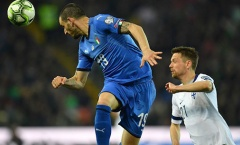 Leonardo Bonucci đi vào lịch sử Azzurri sau trận đấu gặp Phần Lan