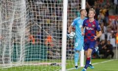 Thông số đáng sợ, De Jong xứng đáng với biệt danh 'Thánh chuyền của Barca'