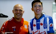 HLV SC Heerenveen lên tiếng về khả năng đá chính của Đoàn Văn Hậu