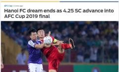 Báo châu Á nói 1 điều về CLB Hà Nội sau khi dừng bước tại AFC Cup 2019