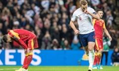 Nhấn chìm Montenegro bằng 7 bàn thắng, tuyển Anh chính thức góp mặt ở EURO 2020