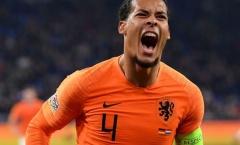 Van Dijk: 'Không may cho cậu ấy nhưng tốt cho chúng tôi!'
