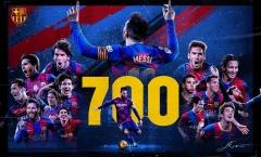 Messi và hành trình chinh phục cột mốc 700 trận ở Barcelona