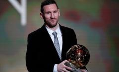Đạt QBV thứ 6, Messi nói 1 điều khiến CĐV Barcelona rơi lệ!