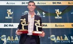 Giành cú đúp danh hiệu, Ronaldo vẫn chào thua Lionel Messi!