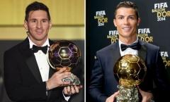 Sergio Ramos nói điều công bằng về Messi và Ronaldo