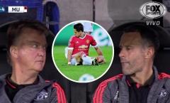 Ký ức Brugge: Van Gaal liếc mắt sửng sốt, đá bay 'đậu nhỏ' khỏi M.U