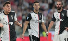 """Đấu Lazio, Sarri để ngỏ khả năng sử dụng """"tam tấu"""" Ronaldo, Higuain, Dybala"""