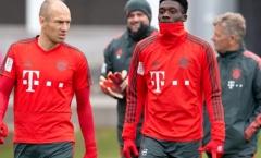 'Robben là thần tượng của tôi, tôi nhớ anh ấy'