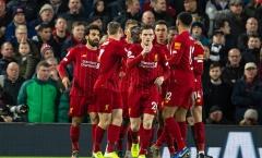 Còn 1 đội chưa bị Liverpool đánh bại tại Premier League