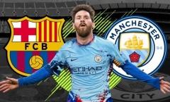Cựu HLV Man Utd ủng hộ Messi gia nhập Man City