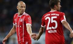Gặp đối thủ chiếu dưới, Muller phản ứng đầy bất ngờ: 'Có lẽ chúng tôi sẽ gọi cho Robben'
