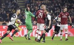 Ronaldo ghi bàn phút 90+1, Juventus hòa nghẹt thở với AC Milan
