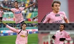 10 cầu thủ nổi tiếng từng khoác áo Palermo: 'Hàng hớ' Man Utd, khao khát của Chelsea