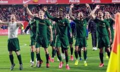 Sao Bilbao thổi kèn ăn mừng chiến tích tại Copa del Rey