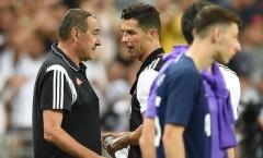 Bỏ qua Pep, Juve trao HĐ khủng cho 'cạ cứng' Ronaldo thay thế Sarri