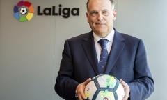 Chủ tịch Javier Tebas tiết lộ thời điểm La Liga trở lại