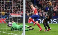 'Trò cưng' Simeone tiết lộ gây sốc về thất bại của Liverpool trước Atletico