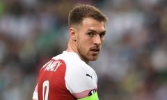 Ramsey: 'Tôi rời Arsenal, đến Juventus để cạnh tranh C1'