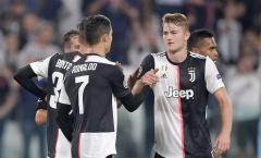 De Ligt: 'Hành động của Ronaldo là một phần lý do khiến tôi chọn Juventus'
