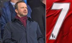 Man Utd tước 'binh quyền' Sanchez, trao cho siêu 'số 7' mới