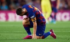 Đánh mất bản ngã, Barca đang chìm vào bóng tối