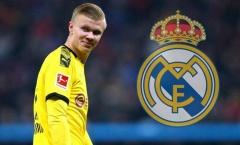Thuyết phục Dortmund nhượng lại Haaland, Real hy sinh 'chìa khóa vạn năng'