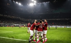 Không Ibrahimovic, AC Milan vẫn quyết tâm đánh bại Juventus