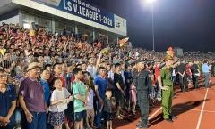 VFF ban bố án phạt dành cho BTC sân Hà Tĩnh sau sự cố vỡ sân