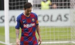 Cơn giận của Messi là dấu chấm hết cho Barca