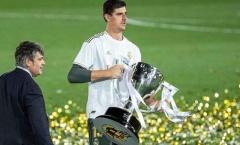 Real Madrid vô địch, Thibaut Courtois thiết lập kỷ lục sau 66 năm