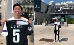 Đoàn Văn Hậu khiến NHM ngỡ ngàng với bức ảnh cùng chiếc áo Juventus