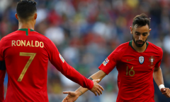 Bruno Fernandes: 'Tôi muốn giúp anh ấy phá kỷ lục ghi bàn'