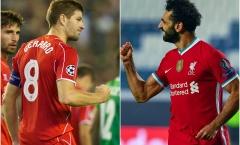 Sắp bị Mo Salah vượt mặt, Steven Gerrard nói lời tâm can