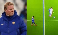 Messi lững thững đi bộ không tranh bóng, Koeman phá vỡ im lặng