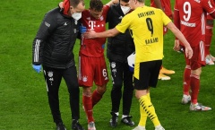 Va chạm với Haaland, sao Bayern gặp chấn thương nghiêm trọng