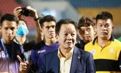 Mất ngai vàng vào tay Viettel, bầu Hiển nói lời ruột gan về CLB Hà Nội